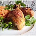 Palki z kurczaka - pieczo...