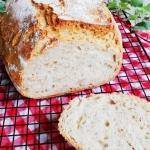 Chleb pszenny z gruszką...