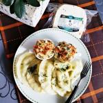 Pierogi z ziemniakami,...