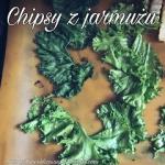 Chipsy z jarmuzu