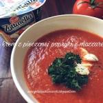 Zupa krem z pieczonej pap...