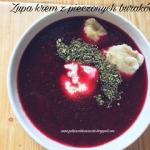 Zupa krem z pieczonych bu...