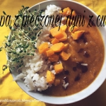 Zupa z pieczonej dyni z c...