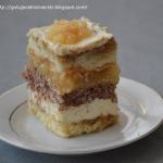 Tort jablkowo-smietankowy...