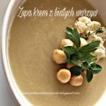Zupa krem z bialych warzy...