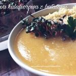 Zupa kalafiorowa z batata...