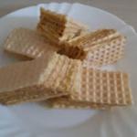 Wafle kakaowo-cytrynowe
