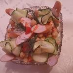 Salatka z cieciorka i gri...