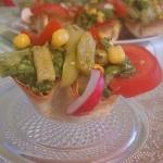 Meksykanska salatka w mis...
