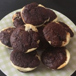 Kakaowe babeczki z serem