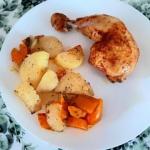Kurczak z warzywami...