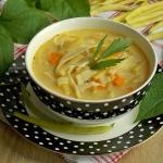 Serowa zupa z fasolką...