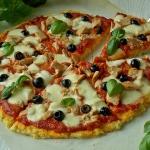 Pizza z tuńczykiem na...