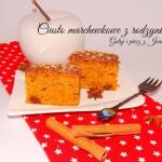 Wilgotne ciasto marchewko...