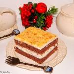 Ciasto kakaowe z masą...