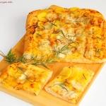 Pizza z ziemniakami suszo...