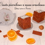 Piernikowe ciasto korzenn...