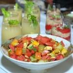 Sałatka z arbuzem