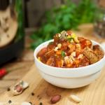 Curry z kurczakiem, orzes...