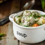 Zupa koperkowa z pulpetam...