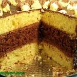 Tort biszkoptowo - czekol...