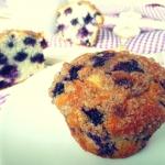 Muffiny z jagodami (Jagod...