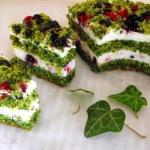 Zielono mi czyli ciasto ...