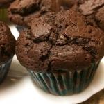 Czekoladowe muffiny z Pep...