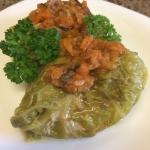 Golabki z sosem warzywnym...