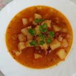 Zupa z cieciorka i choriz...