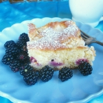 Ciasto z jezynami i prosz...