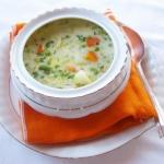 Zupa z wiosennych mlodych...