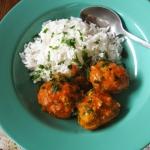 Klopsiki w sosie curry