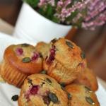 Muffiny z maka dyniowa, c...