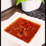 Zupa jesienna- Z sokiem...