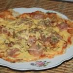 Podplomykowa  pizza