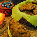 Ciasteczka owsiane z dyni...