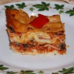 Lasagne z mięsem...