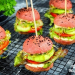 Wegetariańskie burgery...
