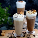 Smakowa kawa latte - z...