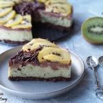 Ciasto kiwi z czekoladą...