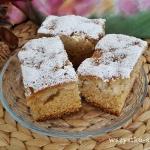 Ciasto imbirowe z jablkam...