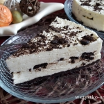 Piankowe ciasto na zimno ...