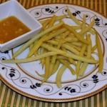 Fasolka szparagowa z sose...