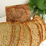 Żytni chleb z semolina