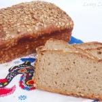 Żytni chleb z brazowym r...