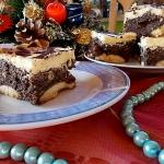 Ciasto dwuwarstwowe...