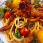 Spaghetti, skrzydełka,...