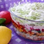 Gyros, czyli salatka wars...