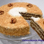 2 orzeszki, ciasto z...